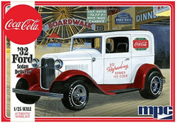 MPC 1932 Ford Sedan Delivery Coca Cola 1/25, LIST PRICE $28.99