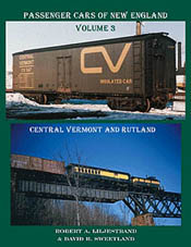Railroad Press Pass Cars of New Eng V 3, LIST PRICE $13.95