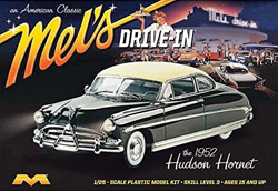 Moebius 1952 Hudson Hornet Car Mel's Drive-In, LIST PRICE $32.49