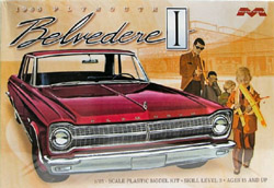 Moebius 1965 PLYMOUTH BELVEDERE, LIST PRICE $32.5