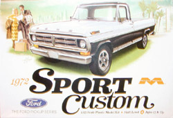 Moebius 1972 Ford Sport Custom Pickup Truck, LIST PRICE $34.99