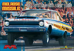 Moebius 1965 Plymouth Hemi Melrose Missle Super Stock Drag, LIST PRICE $39.95