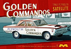 Moebius 1965 Plymouth Golden Commando, LIST PRICE $34.99