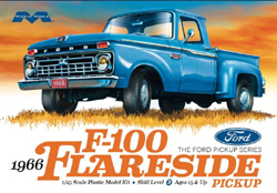 Moebius 1966 Ford F-100 Flareside 1:25, LIST PRICE $39.99