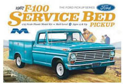 Moebius 1/25 1967 Ford F-100 Service Bed Pickup , LIST PRICE $35.99