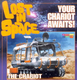 Moebius 1:24 Lost in Space Chariot, LIST PRICE $49.99