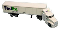Model Power Planes FedEx Tractor Trailer, LIST PRICE $15