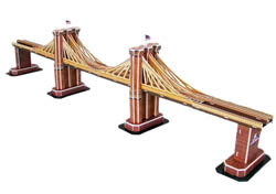 Model Power Planes Brooklyn Bridge 3d Puz 35p, LIST PRICE $12