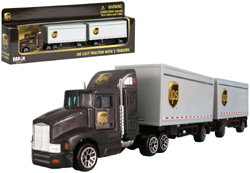Model Power Planes HO Ups Tractor Trailers, LIST PRICE $15