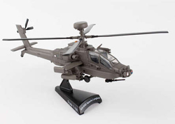 Model Power Planes AH-64 APACHE HELICOPTER 1:100 , LIST PRICE $32