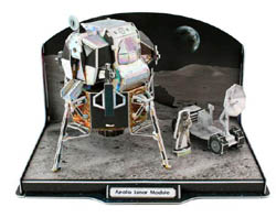 Model Power Planes Lunar Module 3D Puz 104p, LIST PRICE $17.5