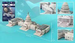 Model Power Planes U.S. Capitol 3d Puz 132p, LIST PRICE $17.5