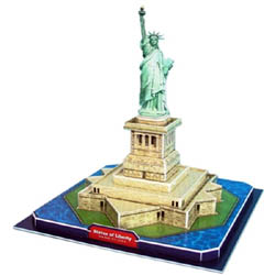 Model Power Planes Statue of Liberty 3d Puz 39p, LIST PRICE $12