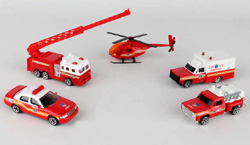 Model Power Planes Fdny 5 Vehicle Set, LIST PRICE $16