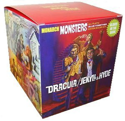 Monarch Models Dracula + Jekyll/Hyde (2 figs), LIST PRICE $69.95