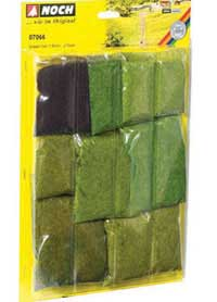 "Noch A Grass Fiber Assortment -- Short 1/16""  .15 & 3/32""  .25cm, LIST PRICE $39.99"