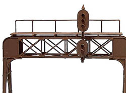 Oregon Rail 2 Trk Sig Bridge US&S, LIST PRICE $27.95