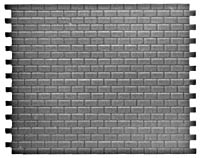 Pikestuff HO Concrete Block Wall (Med) , LIST PRICE $3.75