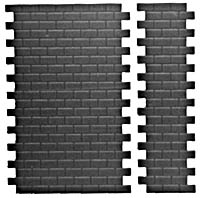 Pikestuff HO Concrete Block Wall (Short) , LIST PRICE $3.75