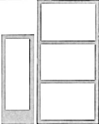 Pikestuff HO Assorted Doors Windows, LIST PRICE $6