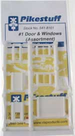 Pikestuff N #1 Door & Window Assortment , LIST PRICE $3.25