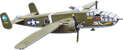 Osborn Models B-25 Mitchell 1:66, LIST PRICE $26.99