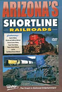Pentrex DVD Arizona Shortline Railroads, LIST PRICE $29.95