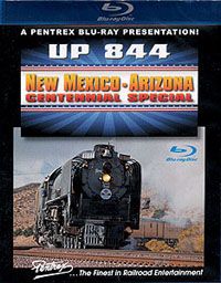 Pentrex A UP #844 New Mexico-Arizona Centennial Special Blu-Ray Disc, LIST PRICE $39.95