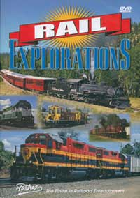 Pentrex Rail Explorations DVD Over 2 Hours, LIST PRICE $29.95