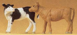 Preiser Calves standing        2/, LIST PRICE $22.99
