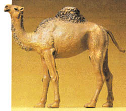 Preiser Camel w/1-hump, LIST PRICE $23.99