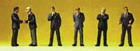 Preiser N Businessmen standing, LIST PRICE $16.99
