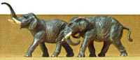 Preiser N Elephants, LIST PRICE $13.99