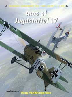 Osprey Publishing Aces of Jagdstaffel 17, LIST PRICE $22.95