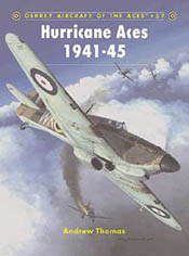 Osprey Publishing HURRICANE ACES 1941-45, LIST PRICE $22.95