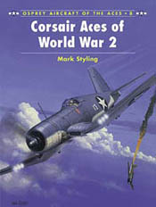 Osprey Publishing CORSAIR ACES WW-II, LIST PRICE $22.95