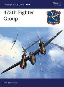 Osprey Publishing 475th FIGHTER GROUP, LIST PRICE $22.95