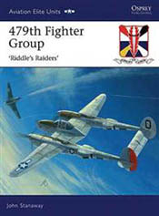 Osprey Publishing 479th FIGHTER GROUP, LIST PRICE $25.95