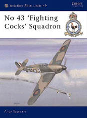 Osprey Publishing 43rd FIGHTING COCKS SQUADRON, LIST PRICE $25.95