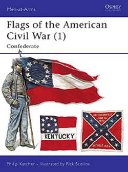 Osprey Publishing ACW FLAGS 1 CONFEDERATE, LIST PRICE $17.95