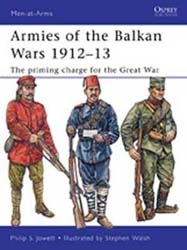 Osprey Publishing Armies Of Balkan Wars, 1912-13, LIST PRICE $17.95