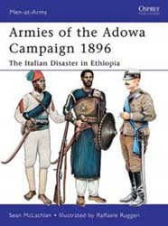 Osprey Publishing Armies Of The Adowa Campaign 1896, LIST PRICE $17.95