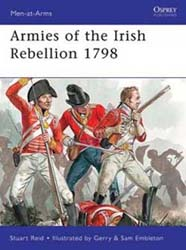 Osprey Publishing Armies Of Irish Rebellion 1798, LIST PRICE $17.95