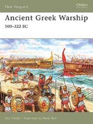 Osprey Publishing ANCIENT GREEK WARSHIP 500-322B, LIST PRICE $17.95