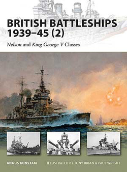 Osprey Publishing British Battleships 1939-45 #2, LIST PRICE $17.95