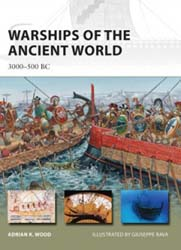 Osprey Publishing Warships Of Ancient World 3000-500, LIST PRICE $17.95