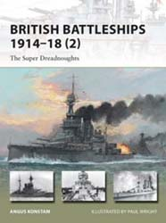 Osprey Publishing Brit Battleships 1914-18, LIST PRICE $17.95