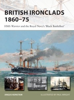 Osprey Publishing British Ironclads 1860-75, LIST PRICE $18