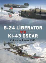 Osprey Publishing B-24 Liberator Vs Ki-43 Oscar, LIST PRICE $17.95