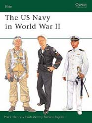 Osprey Publishing The US NAVY in WW-II, LIST PRICE $18.95